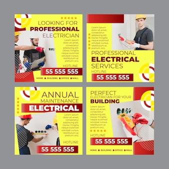 Publicaciones de instagram de electricista