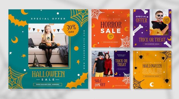 Publicaciones de instagram del festival de halloween