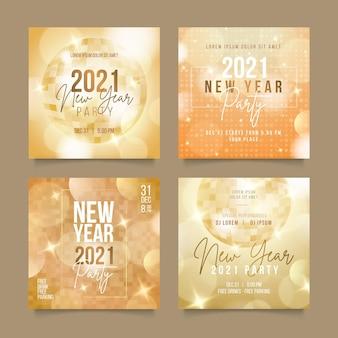 Publicaciones de instagram de fiesta de año nuevo 2021