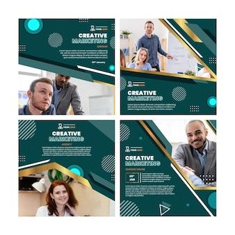 Publicaciones de instagram de marketing empresarial
