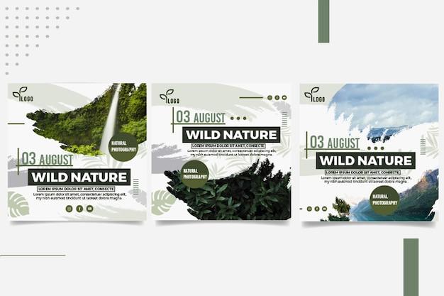 Publicaciones de instagram de naturaleza salvaje