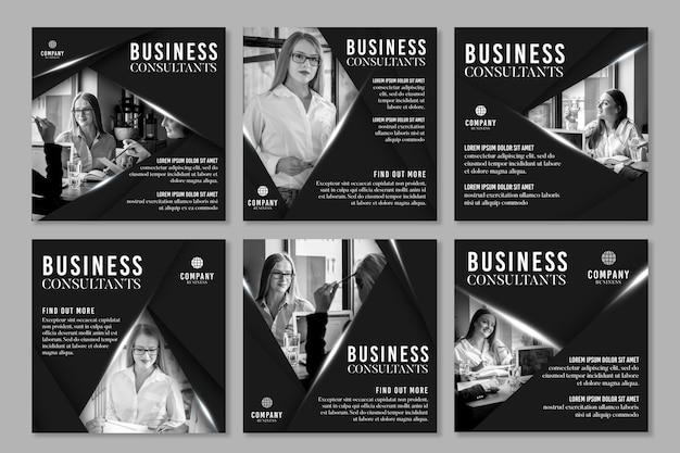 Publicaciones de instagram de negocios generales