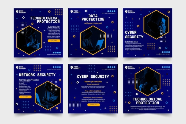 Publicaciones de instagram de seguridad cibernética