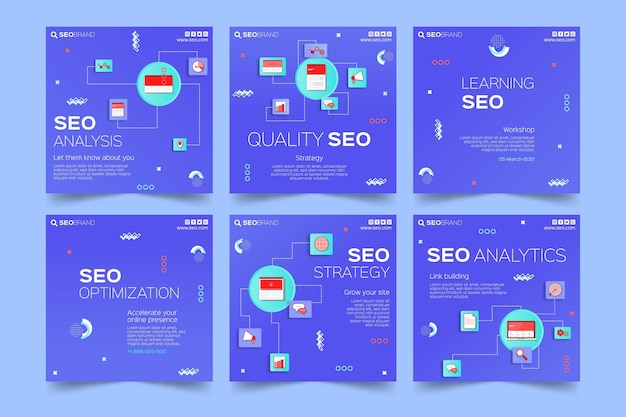 Publicaciones en redes sociales seo