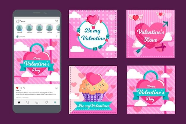 Publicaciones de san valentín en instagram