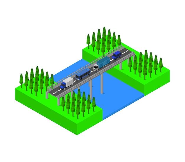 Puente isometrico