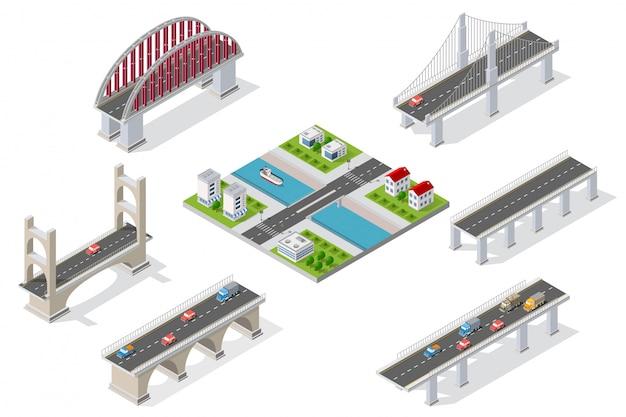 Puentes en el ámbito de la industria.
