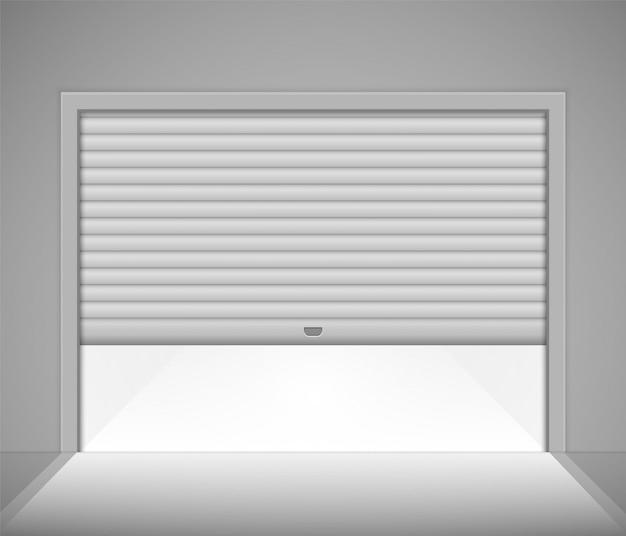 Puerta de garaje enrollable