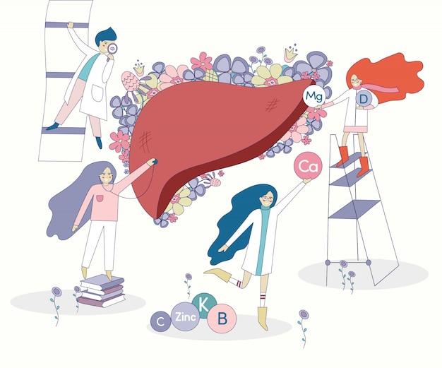 Pulmones y doctores sanos