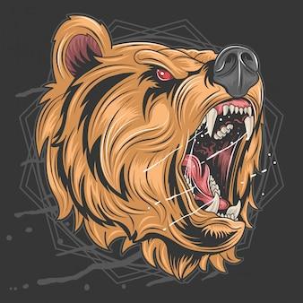 Rabia del oso de miel