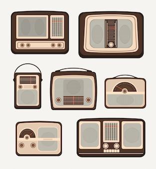 Radio de tecnología retro