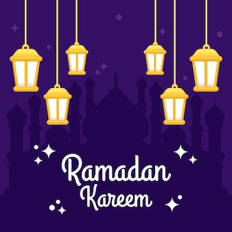 Ramadán hermoso piso