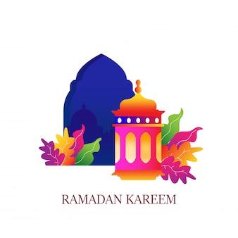 Ramadán islámico kareem