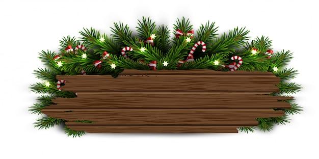 Ramas de arbol de navidad