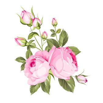 Ramo de flores de primavera.