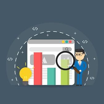 Ranking de motores de búsqueda, análisis de motores de búsqueda, éxito de seo