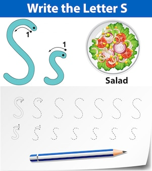 Rastreo de letras s
