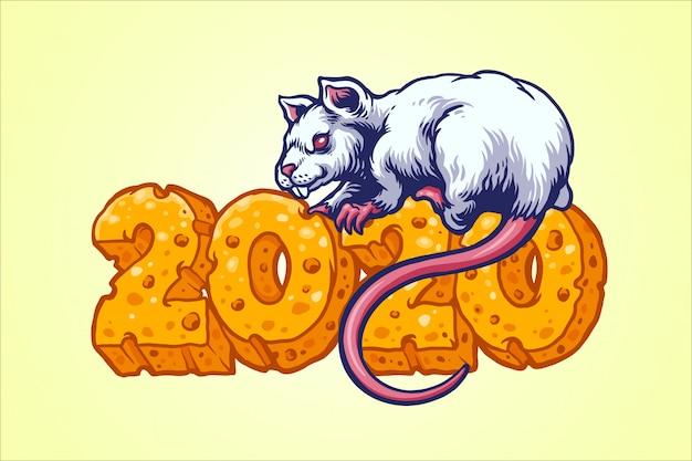 Rata con queso número 2020