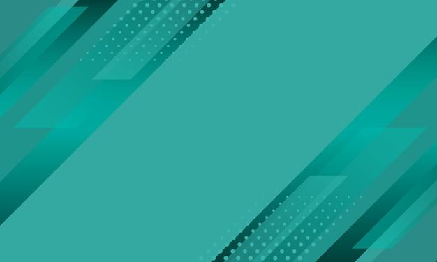 Rayas diagonales verdes geométricas con fondo de trama de semitonos. diseño para su sitio web.