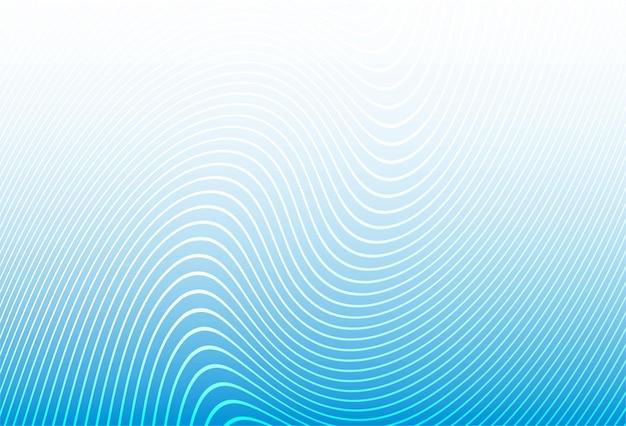 Rayas con estilo moderno línea azul de fondo
