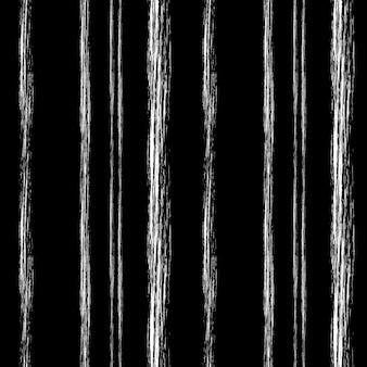 Rayas de tiza blanca sobre un negro
