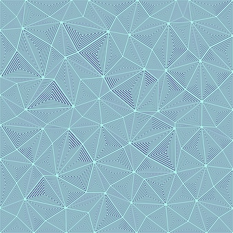 Rayas triángulo rompecabezas mosaico de fondo