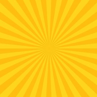 Rayos abstractos de vuelta