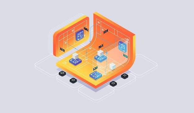 Realidad virtual isométrica y desarrollo de software
