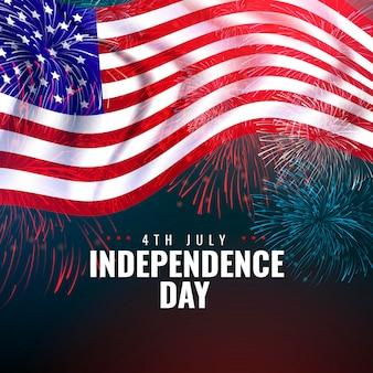 Realista 4 de julio - día de la independencia