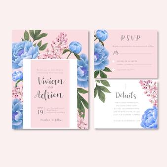 Recepción de boda flores con follaje pastel