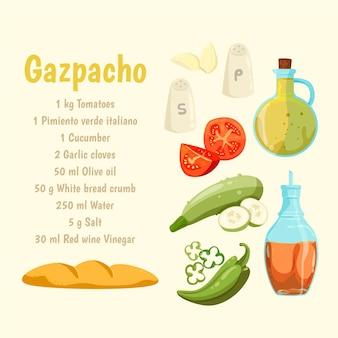 Receta saludable con verduras
