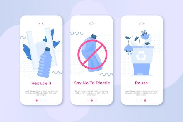 Reciclar aplicación de teléfono móvil
