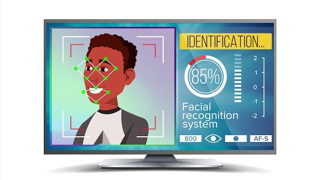 Reconocimiento facial, identificación