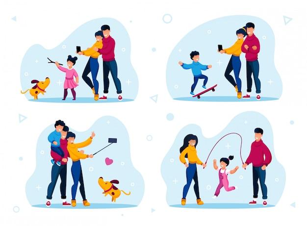 Recreación familiar y estilo de vida activo