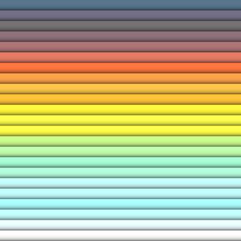 Rectángulos horizontales de color brillante