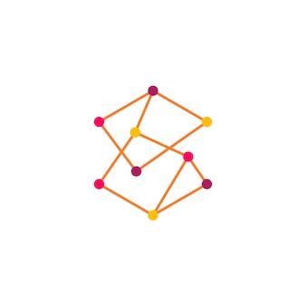 Red de blockchain cryptocurrency crypto bitcoin ethereum logo