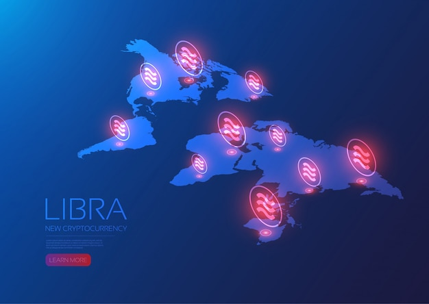 Red global de libra isométrica