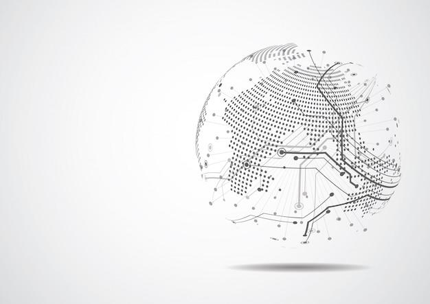 Red global de negocios de conexion