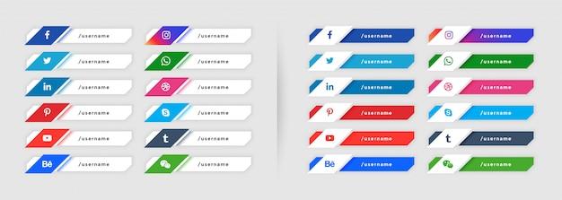 Las redes sociales bajan la tercera colección en estilo moderno