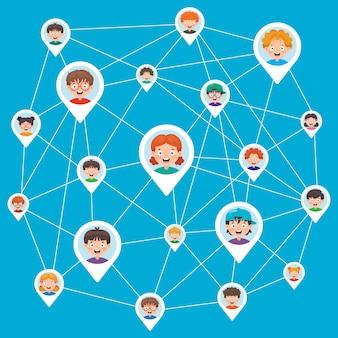 Redes sociales y conexión entre personas