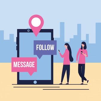 Redes sociales digitales