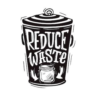 Reducir el desperdicio
