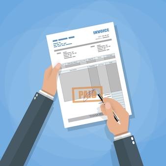 Registro de factura