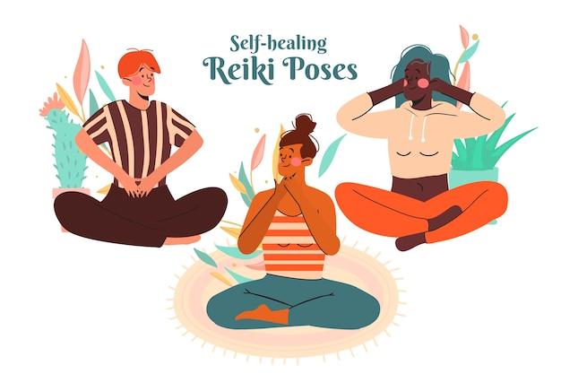 Reiki plantea grupo de autocuración