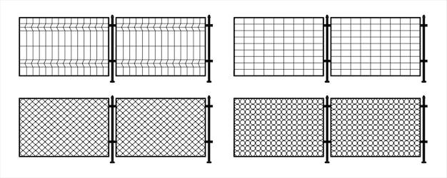 Reja de metal. rabitz. eslabón de cadena de rejilla metálica. cerca de alambre trenzado. textura de fondo de la jaula, eslabón de cadena de metal, valla. malla metálica, barrera de la prisión, propiedad asegurada