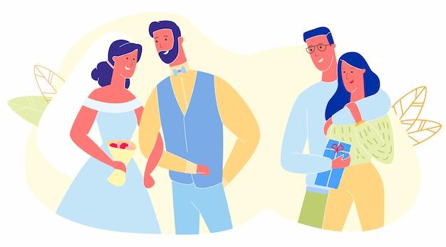 Relaciones románticas, amor, citas, caminar juntos