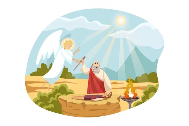 Religión, cristianismo, concepto bíblico