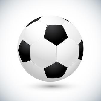 Representación de balón de fútbol
