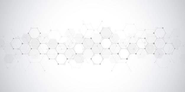 Representación de diseño de fondo geométrico