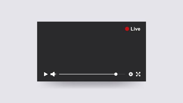 Reproductor de streaming en línea.